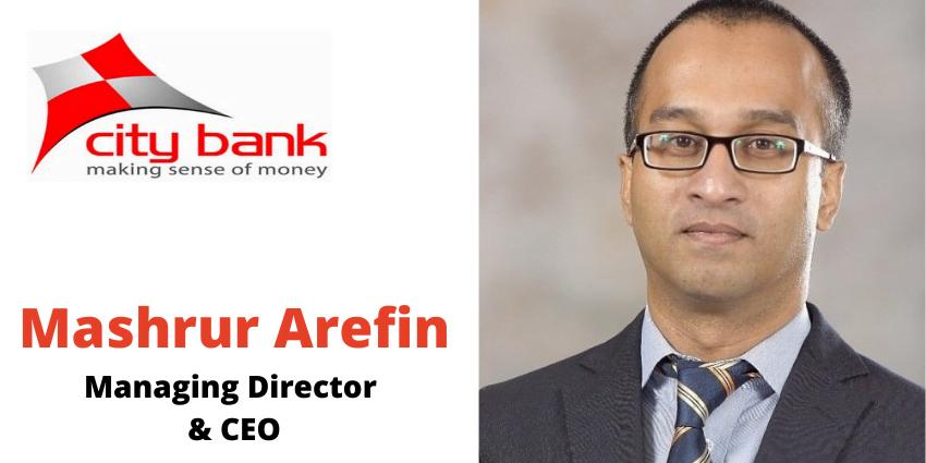Mashrur Arefin Managing Director & CEO