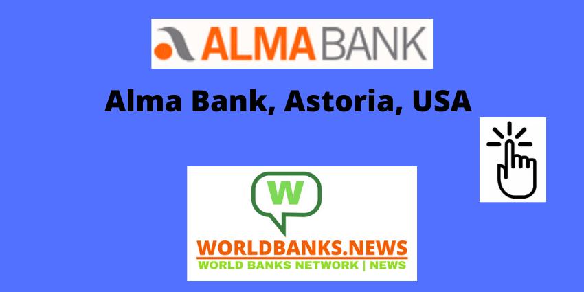 Alma Bank, Astoria, USA
