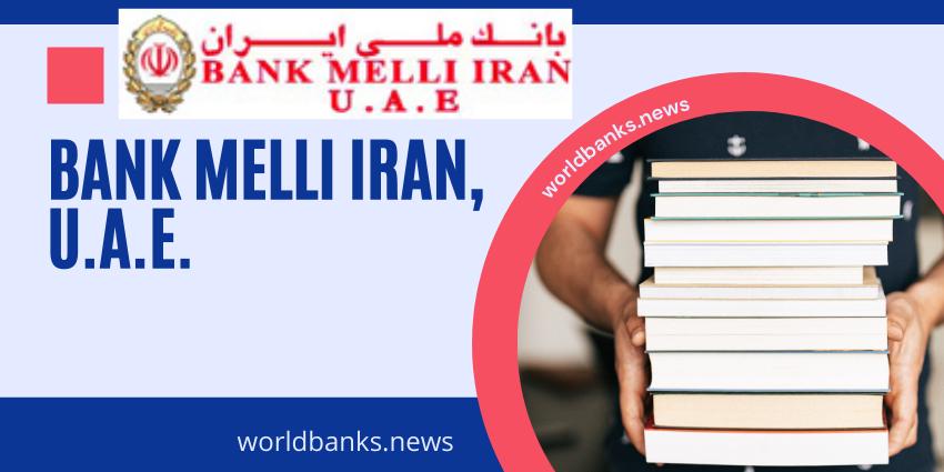 Bank Melli Iran, U.A.E.